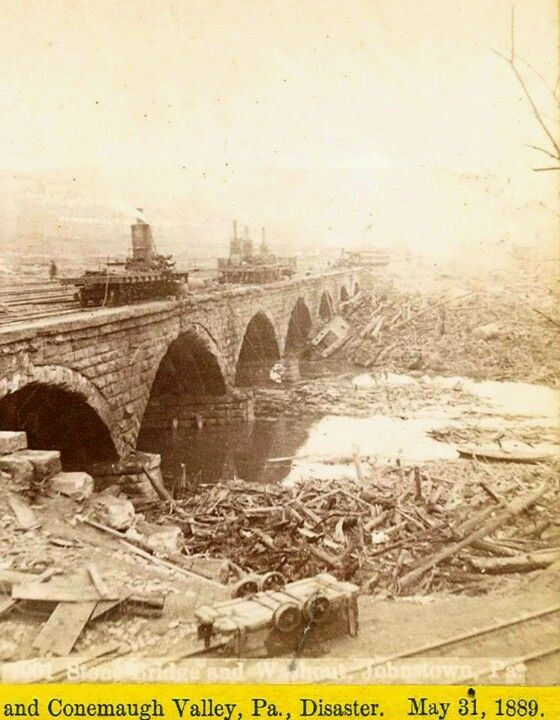 1889 Johnstown, PA flood   ~HisTorY In PicTureS - USA ~ in