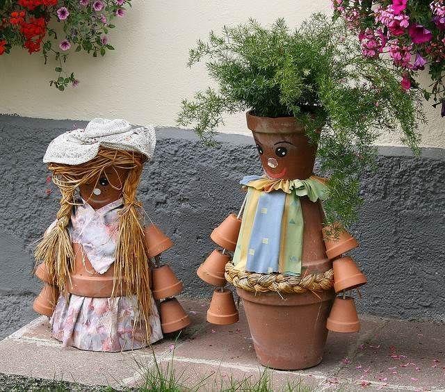 Décoration jardin en 25 idées créatives et faciles à imiter | Clay ...