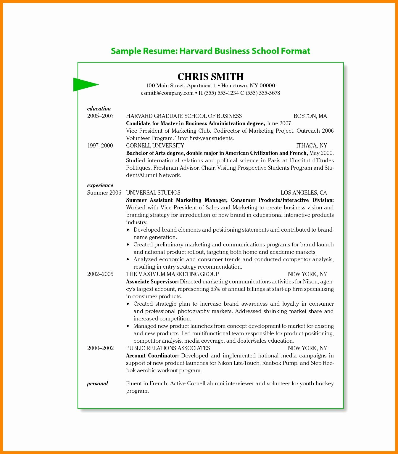 mba resume template awesome pursuing mba resume format luxury mba