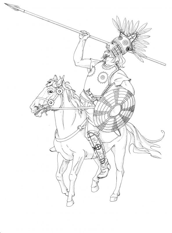 Example of Orlanthi weapons and armor