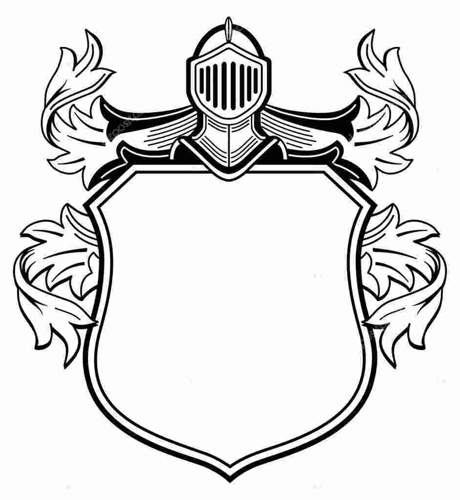 Coloring Pages: Medieval crest symbols coloring pages ...