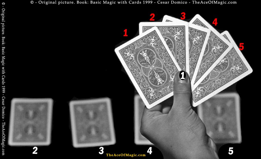 Learn Magic Trick With Cards Guess 5 Different Cards Learn Magic Tricks Cards Card Tricks