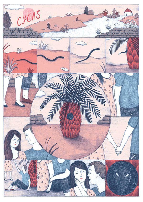 Delebile Alessandra De Cristofaro Comic Layout The Art Of Storytelling Illustration Art