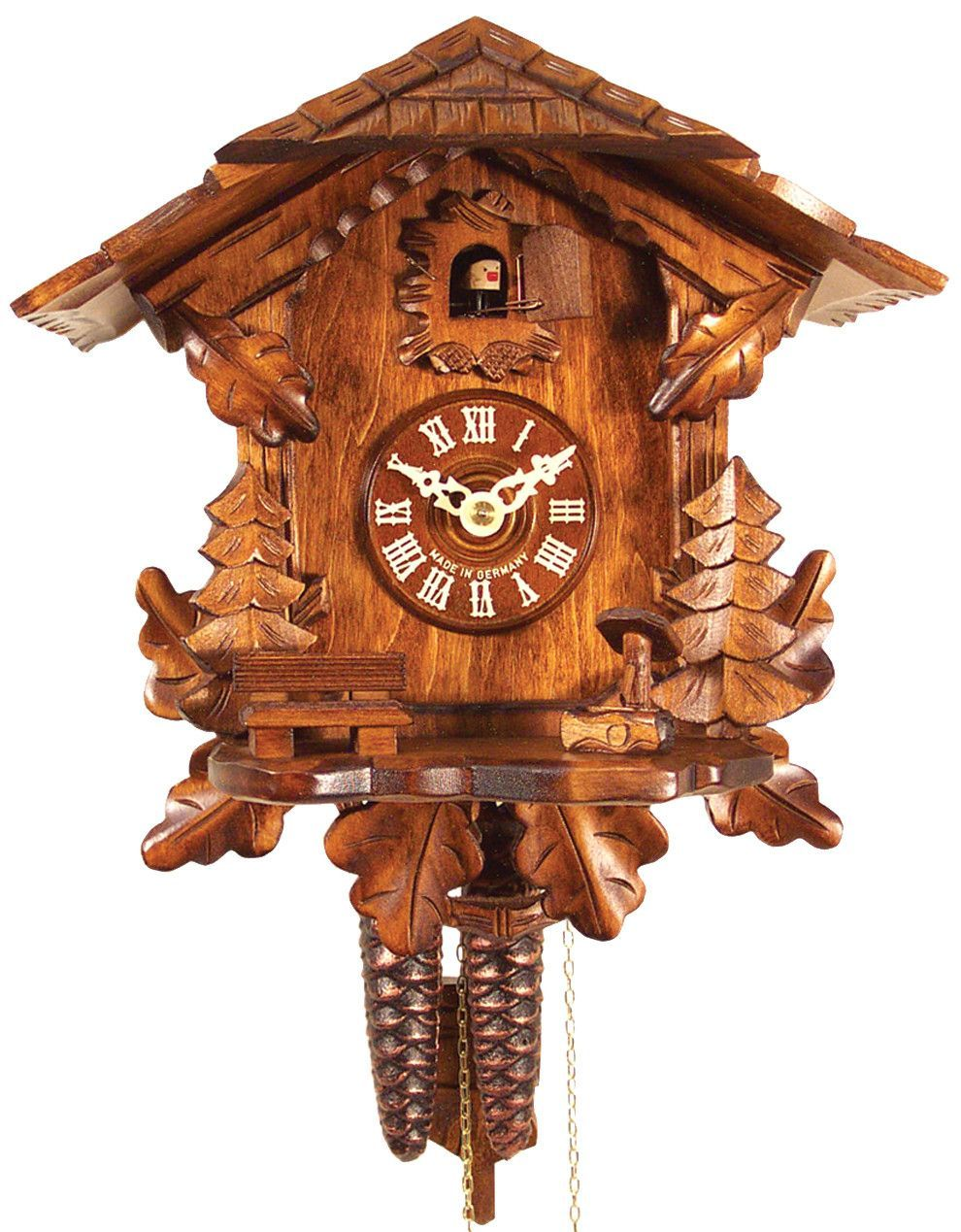 Features scenic detail clock is one day weight driven and clock is one day weight driven and sings on amipublicfo Images