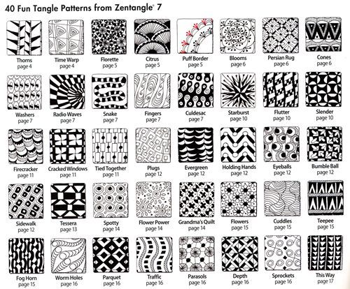 Zentangle example 3