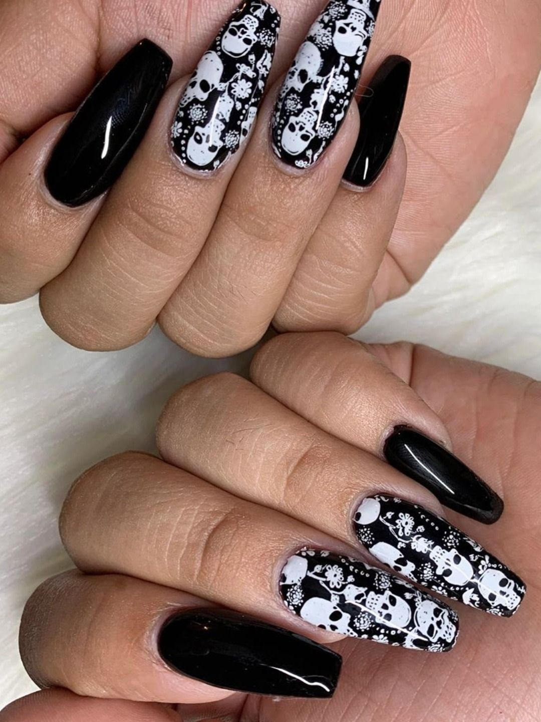 Halloween black coffin nails 2019!   Nails, Candy corn ...