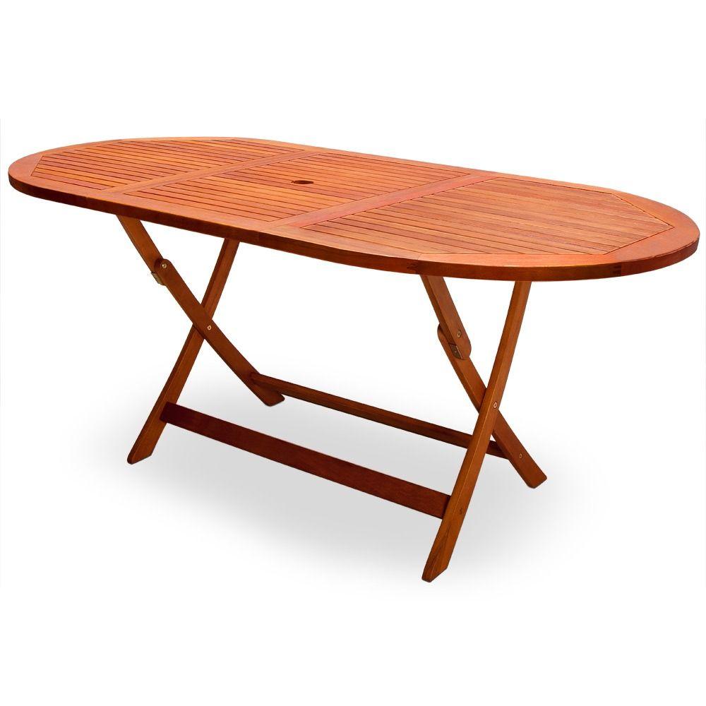 table de jardin en acacia massif fsc