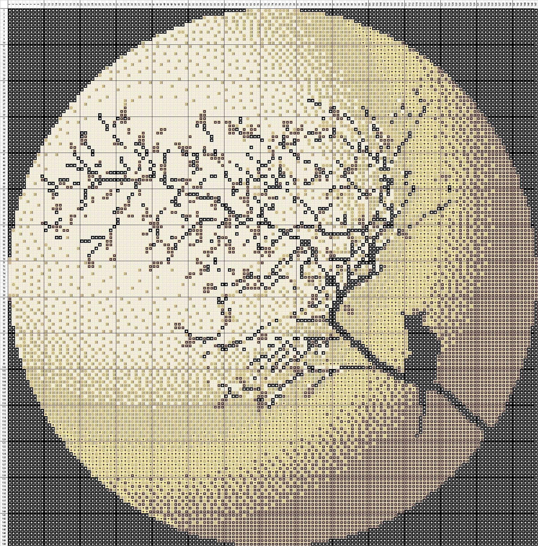 Free Cross Stitch Pattern Moon Cat DIY 100 Ideas Cross
