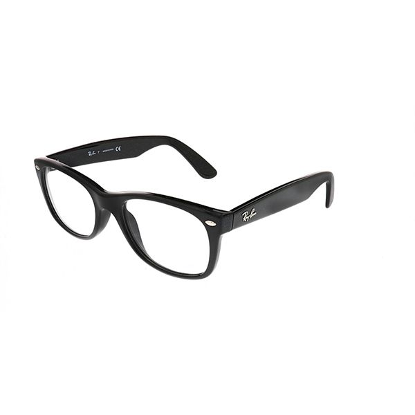 40a779cc8d9 Ray-Ban RX5184 New Wayfarer 2000 Shiny Black - Unisex Prescription  Eyeglasses for men and women