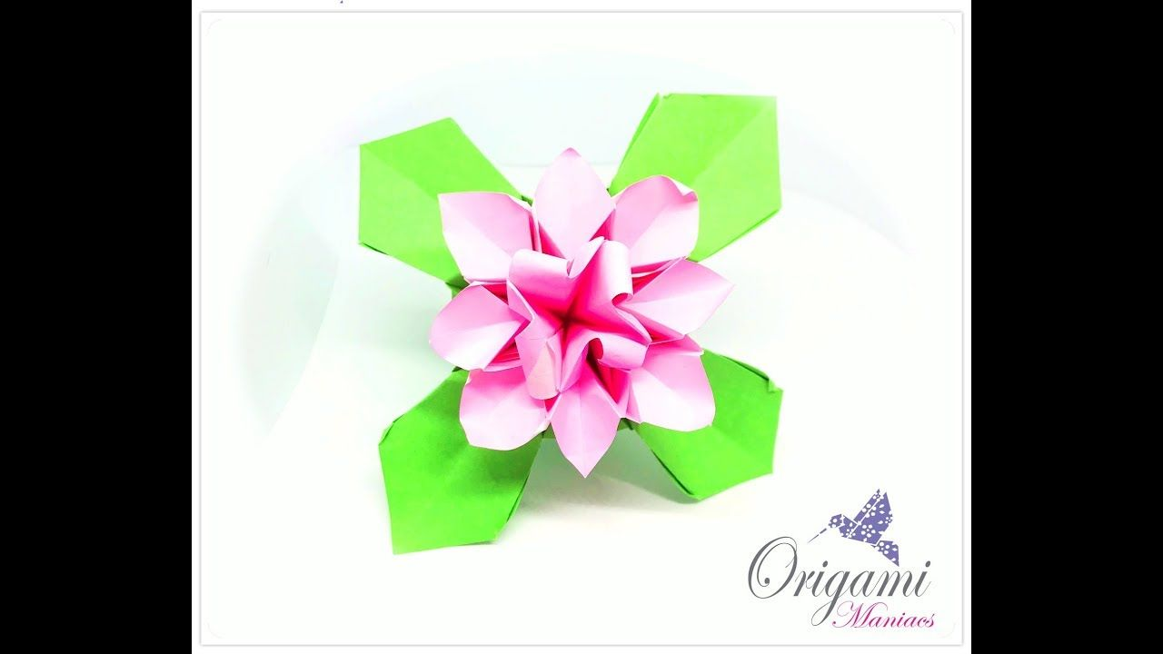 Origami Flowers Video Beautiful Flowers 2019 Beautiful Flowers