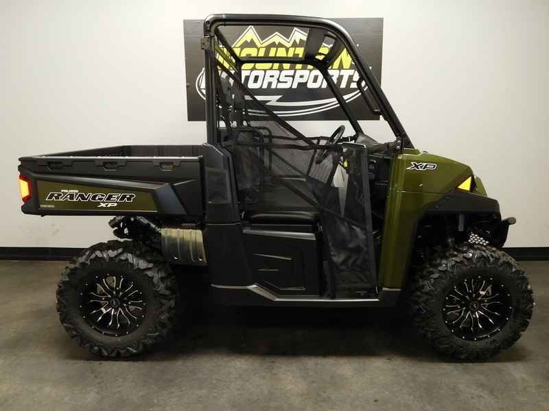 New 2017 Polaris RANGER XP 900 Sage Green ATVs For Sale in Tennessee