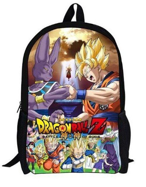 Lights & Lighting Helpful Customized Anime Dragon Ball Super Backpacks For Teenage Boys Cool Saiyan Sun Goku Vegeta Printing Children School Bag Rucksack