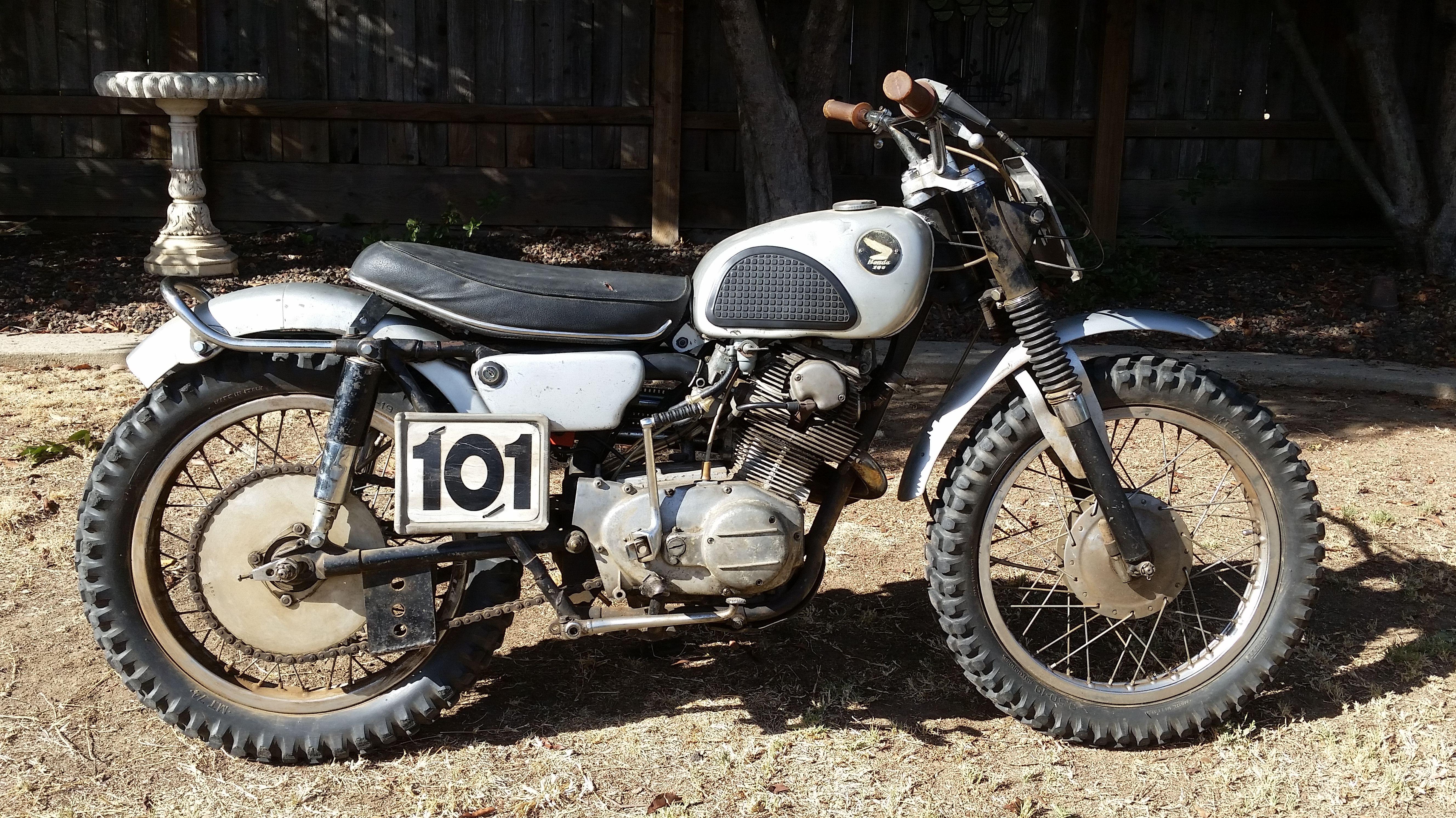 small resolution of 1965 honda 305 cl77 race scrambler