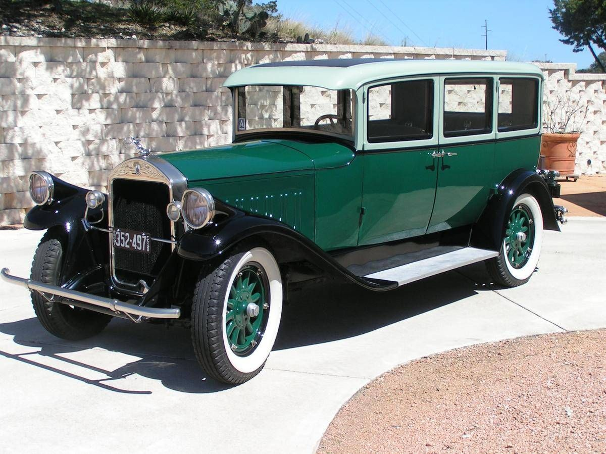 1928 Pierce-Arrow Series 81 Maintenance/restoration of old/vintage ...