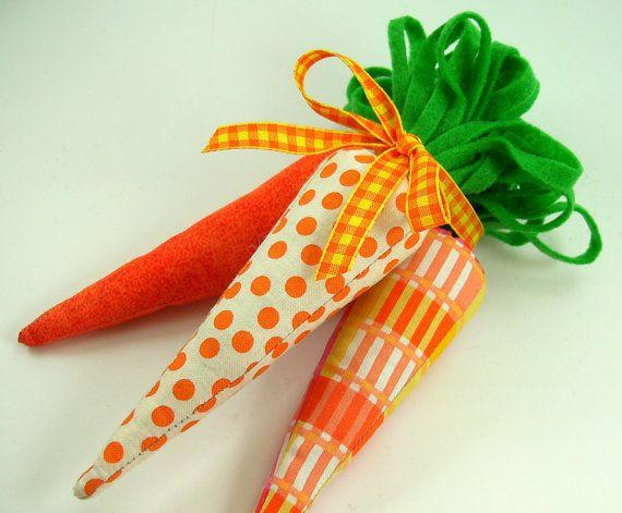 Fabric Carrots PDF Sewing Pattern .. NEW. $3.00, via Etsy.