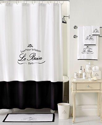 Kassatex Bath Accessories, Le Bain Shower Curtain   Shower Curtains   Bed U0026  Bath   Macyu0027s