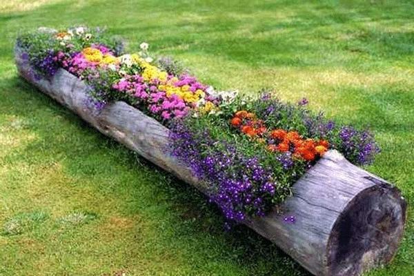 Parterre De Fleur Moderne Devant Maison Parterre De Fleurs Decoration Jardin Idees Jardin