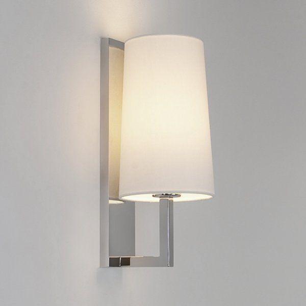 Riva Modern Hotel Style Bathroom Wall Light Chrome Wall Light Fittings Wall Lamp Shades Wall Lights