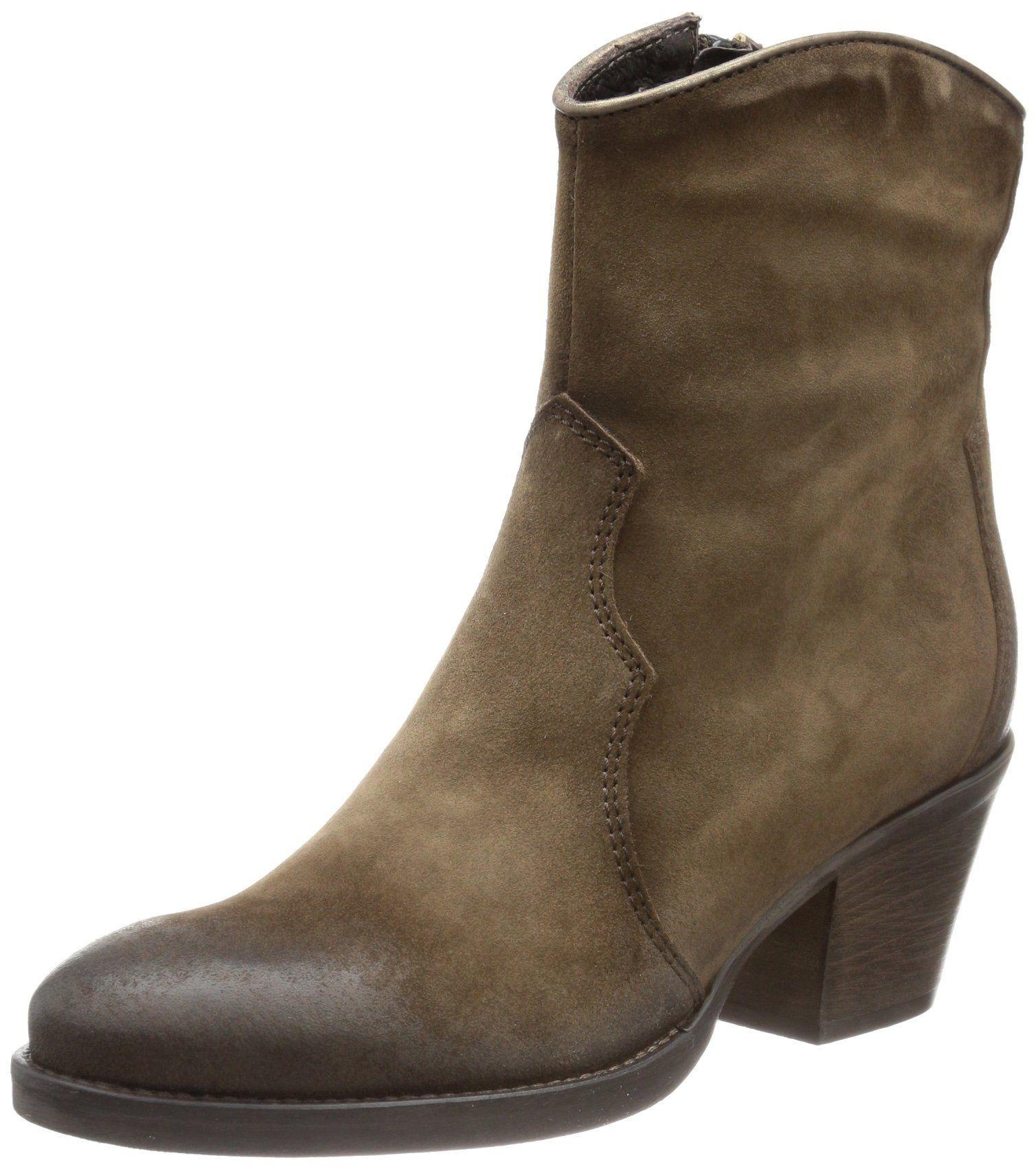 CAFèNOIR FF602 - Botas clásicas de cuero mujer: Amazon.es: Zapatos y complementos