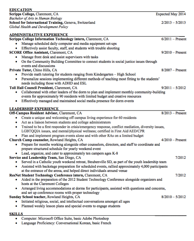 Sample Private Tutor Resume Examples Resume Cv Sdlc