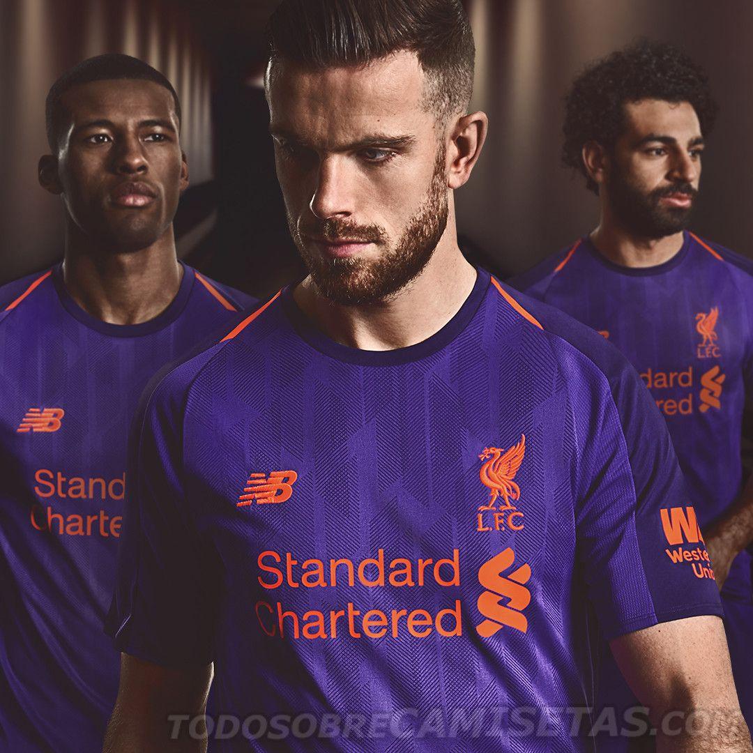 Liverpool FC 2018-19 New Balance Away Kit  ccd7ea6eed3