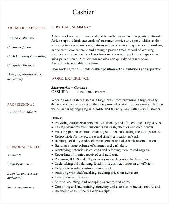 resume free samples cashier resume sample mba resume
