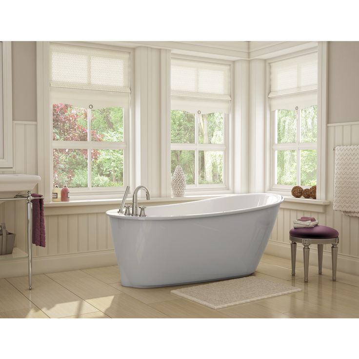 Maax Sax Bathtub in Grey | Bathrooms | Pinterest | Bathtubs