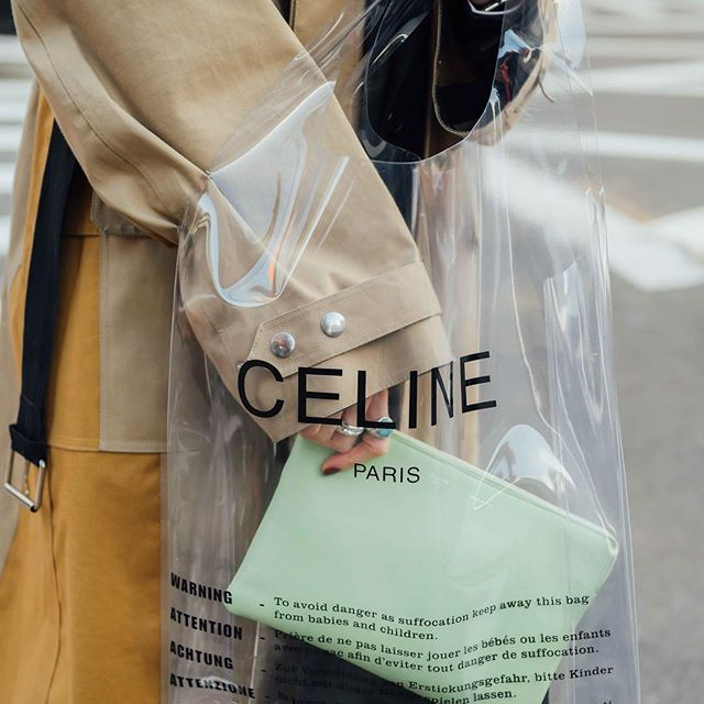 d340b53828a5 Image result for celine plastic bag