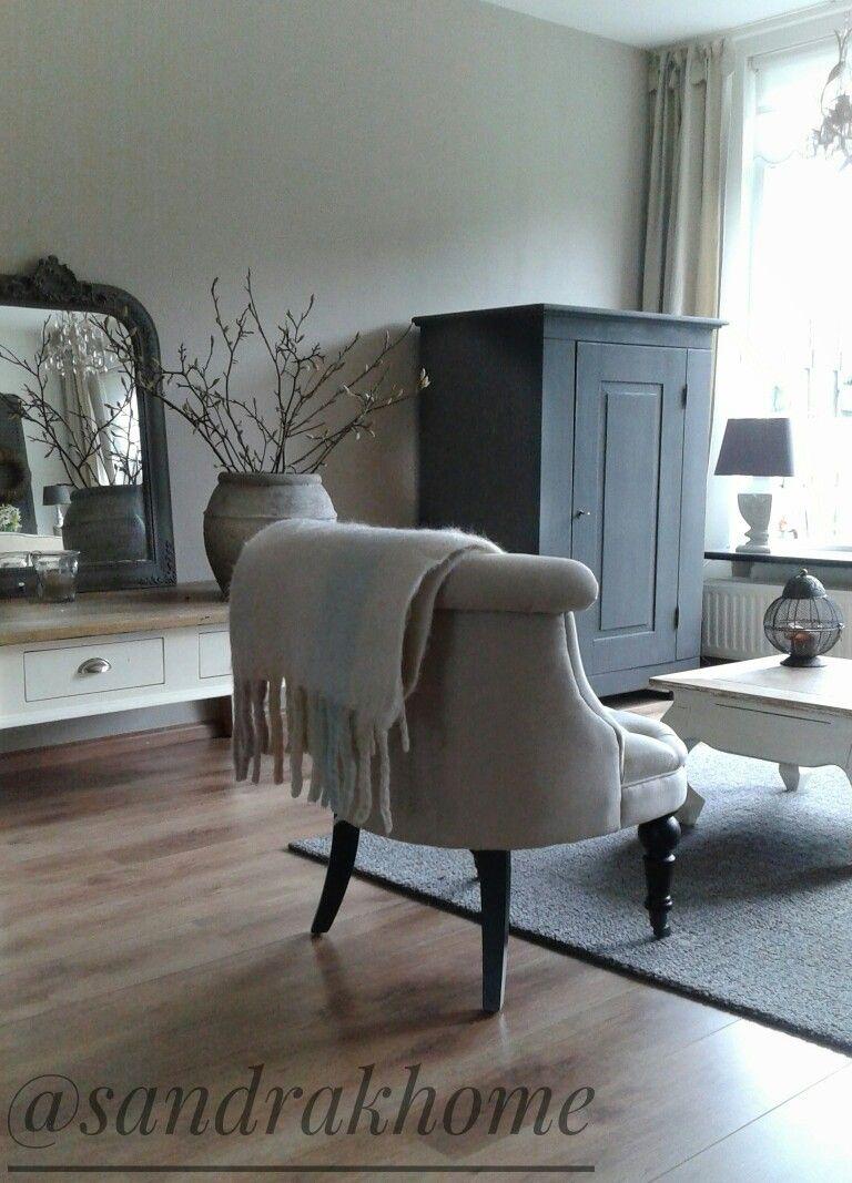 Woonkamer landelijke stijl | sandrakhome | Pinterest - Huiskamer ...