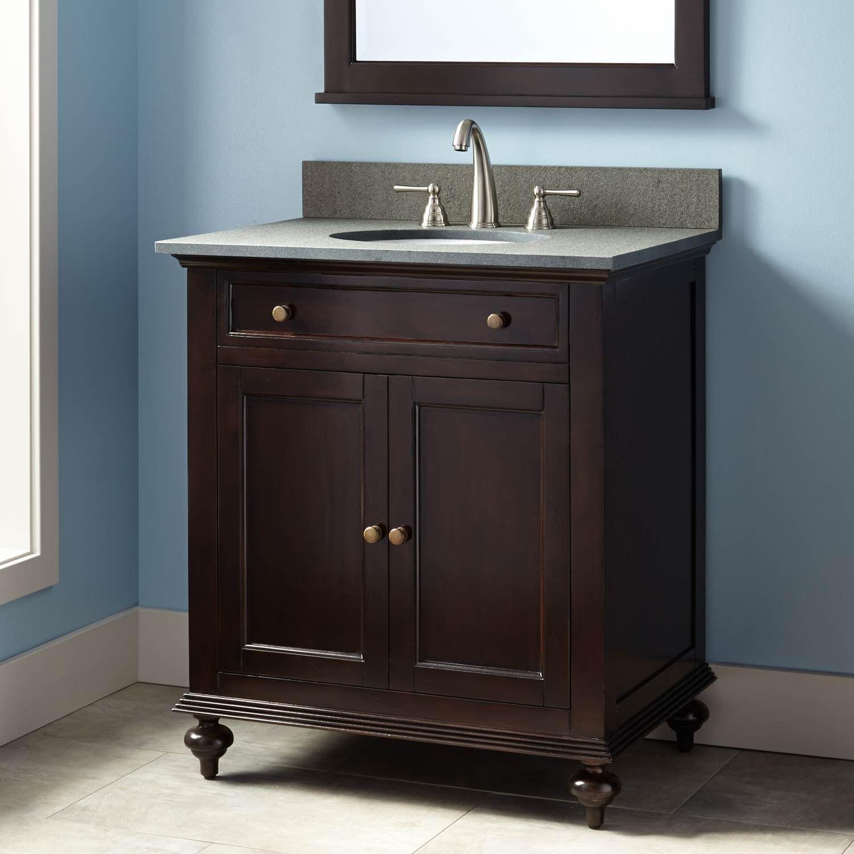 30 Keller Mahogany Vanity For Undermount Sink Dark Espresso