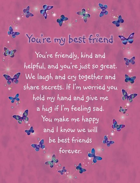 best reasons why youre my best friend poem image collection