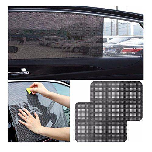 Auto Car Retractable Curtain Side Window Shade Windshield Sun Shield Visor mnh