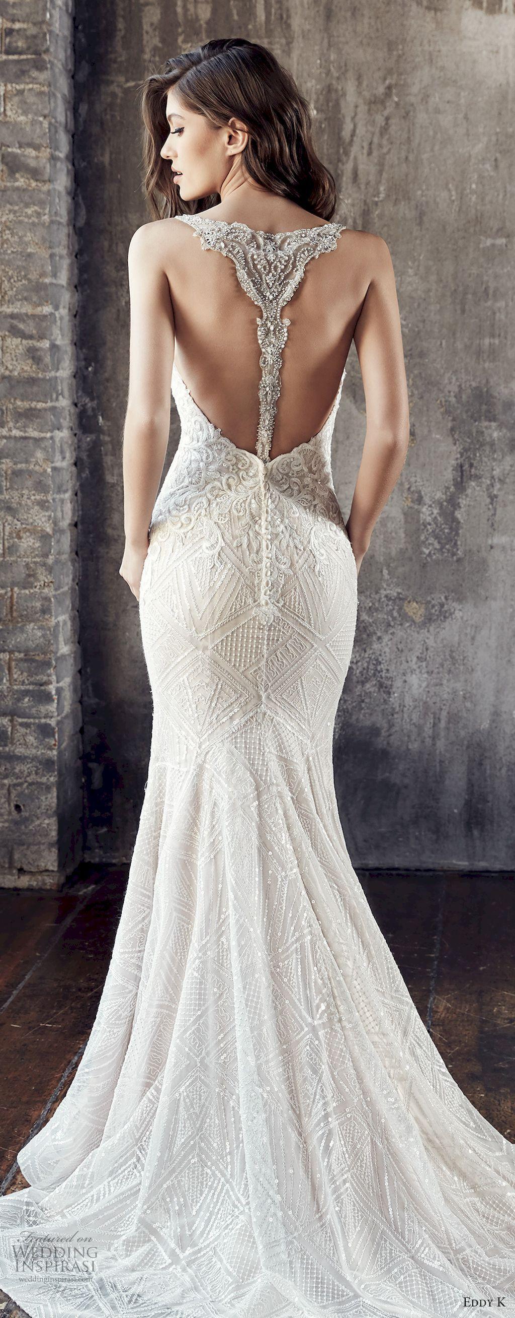 gorgeous backless wedding dresses design ideas backless wedding