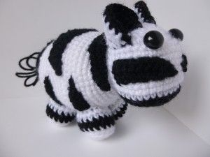 Zebra - Free Amigurumi Pattern http://www.gooddaycrochet ...