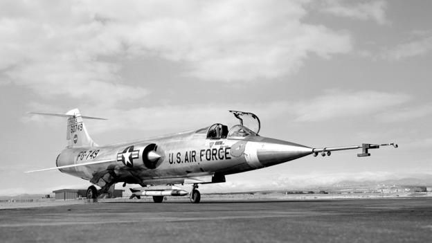 The 1950s Jet Launching Tiny Satellites Starfighter Fighter Aircraft Fighter Jets