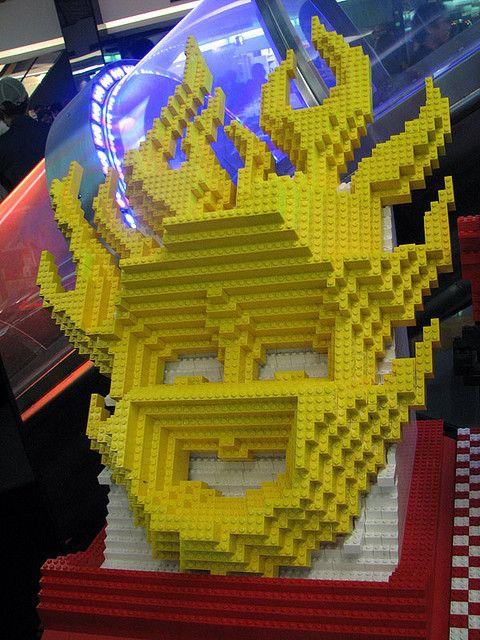 Golden Smile - Lego Mask of Indonesia