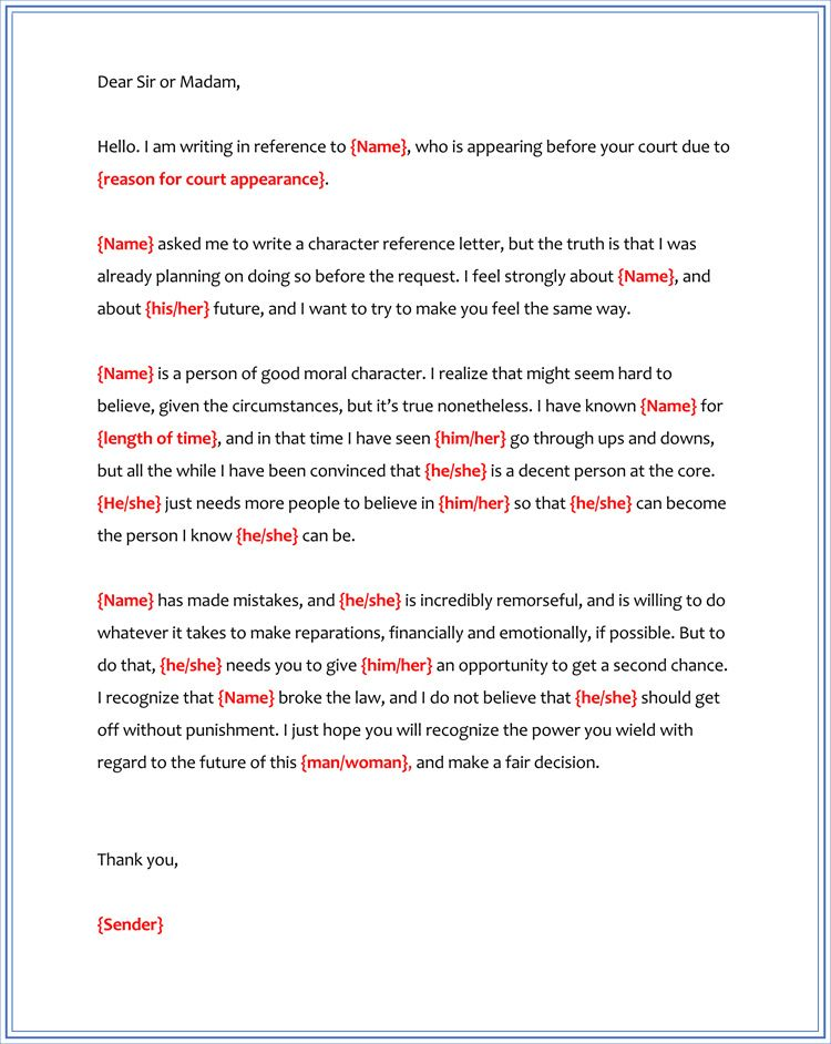 Sample Letter Of Good Moral Character For A Judge from i.pinimg.com