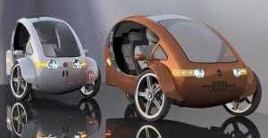 FUTURO: híbrido de bicicleta e carro solar pode ser o futuro da mobilidade urbana
