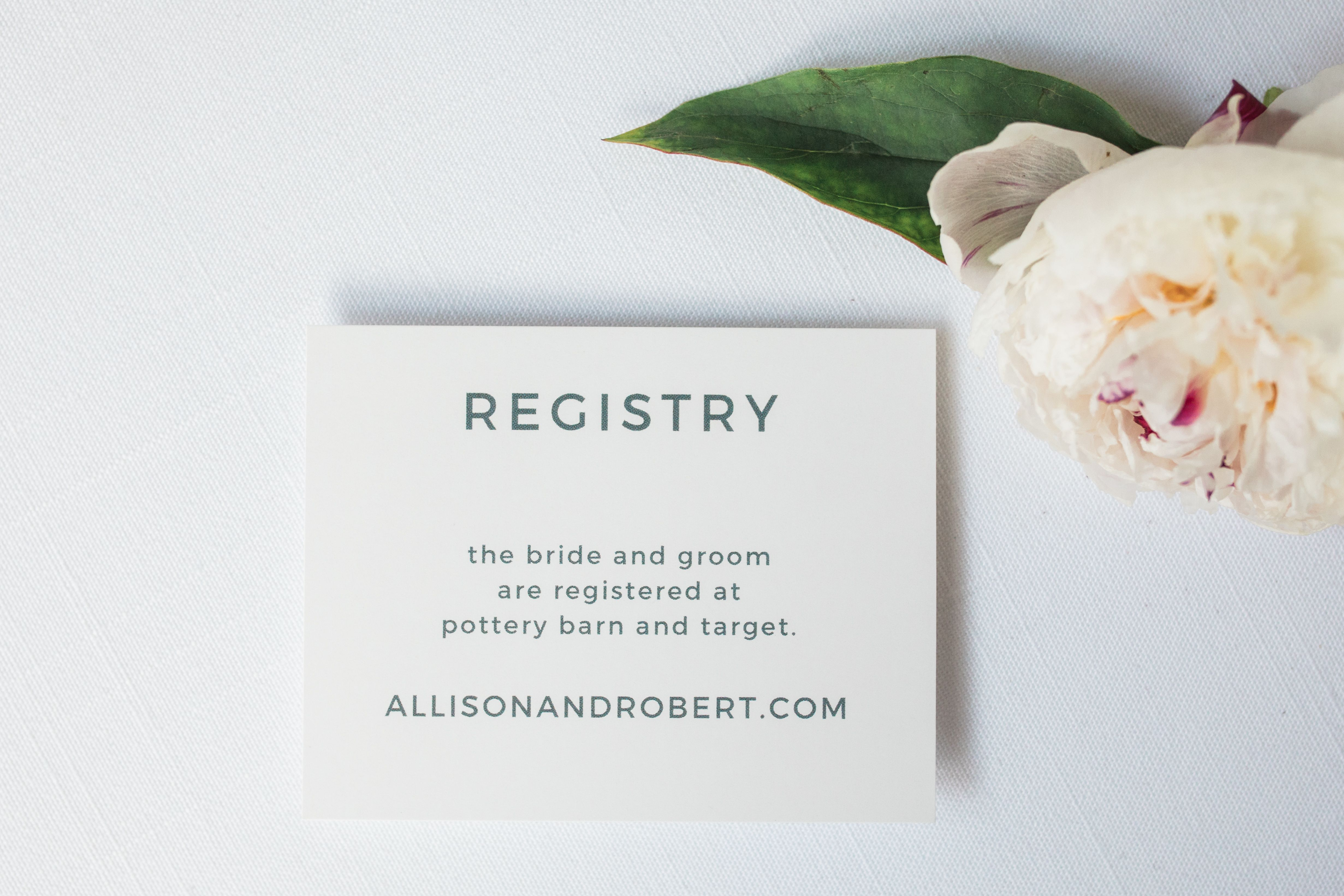Watercolor Bouquet Registry Cards | Wedding, Weddings and Wedding ...