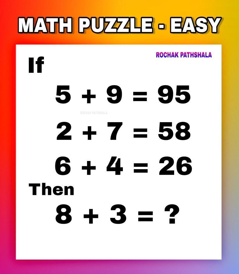 Can You Solve This Math Puzzle Maths Puzzles Math Riddles Brain Teasers Solving
