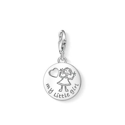 SIL 'MY LITTLE GIRL' CHARM #MothersDay #Jewellery #Gift #ForHer