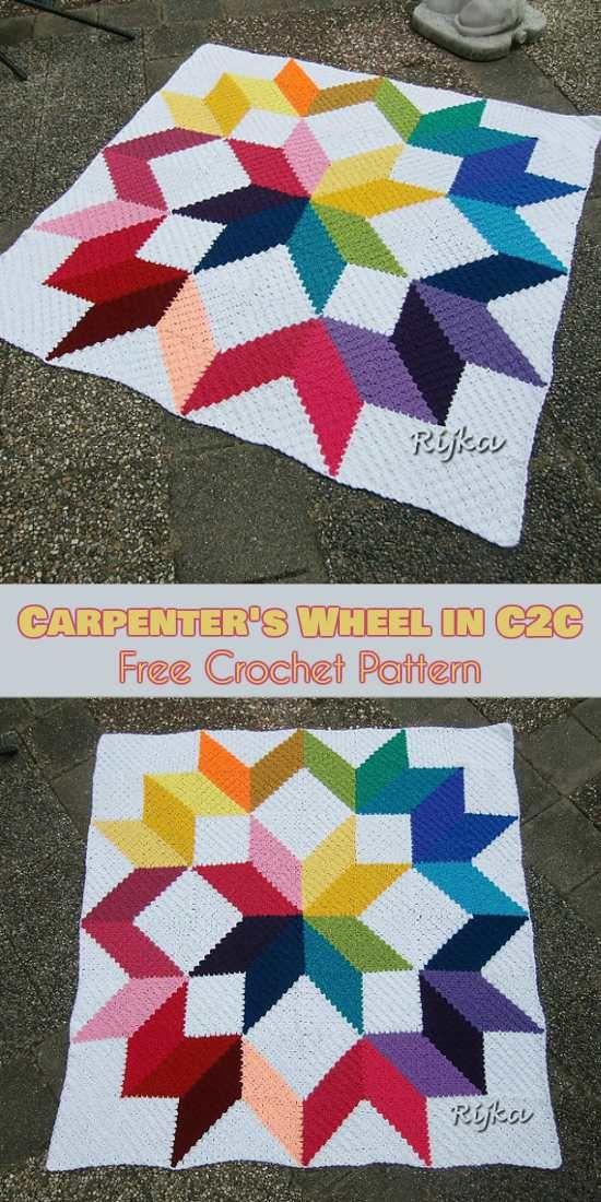Omg Crochet C2c Free Pattern Sewing Pinterest Free Pattern