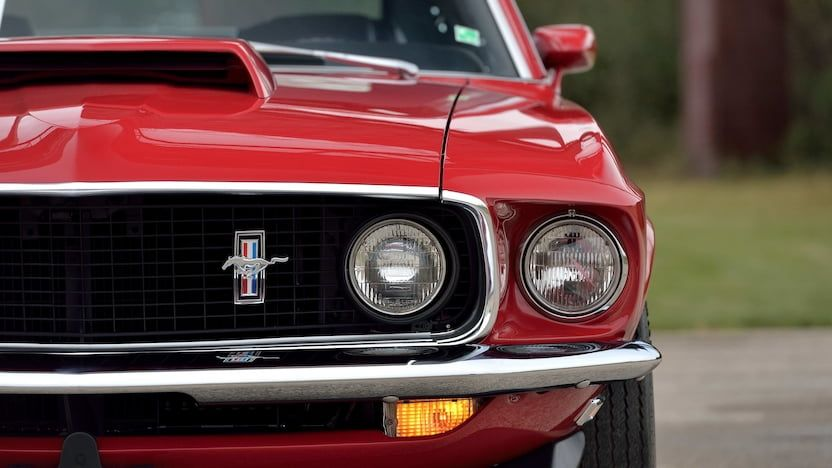 1969 Ford Mustang Boss 429 Fastback F127 Kissimmee 2019 In 2020 Ford Mustang Boss Ford Mustang Mustang Boss