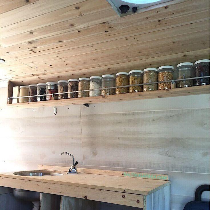 Photo of Sprinter Van Conversion Kitchen Schwimmende Speisekammer #kitchenpantrycabinets …