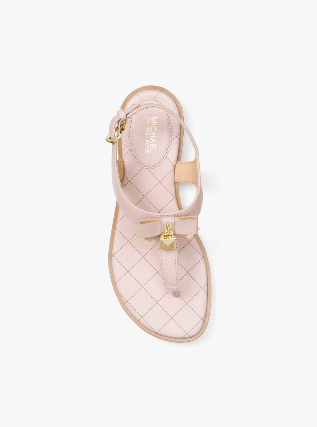 Alice Leather Sandal | Michael Kors