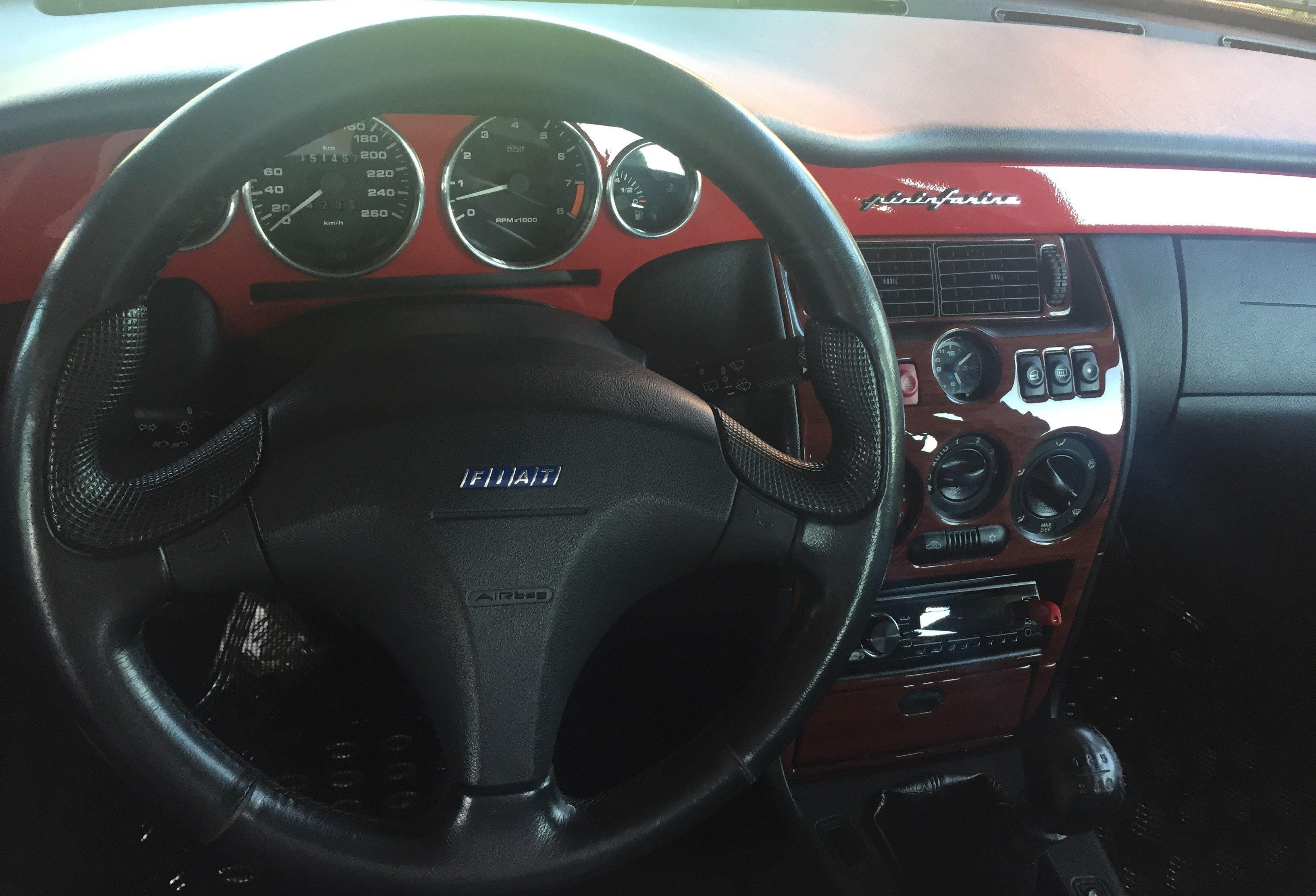 Fiat Coupe 20v Turbo Interior