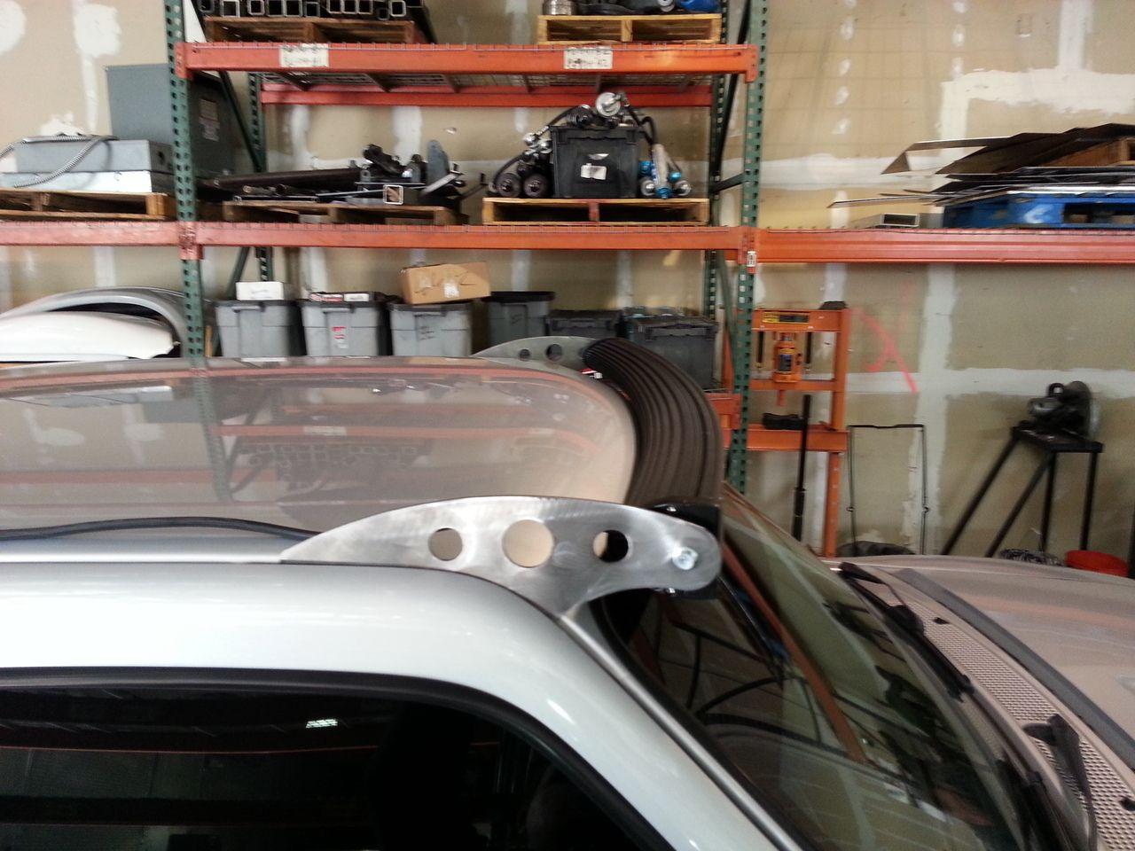 """93-12 Ford Ranger 50"""" Radius Bar Mounts - MCM Fab & Design"""