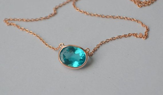 Oval apatite pendant in 14 k rose gold channel by yvonneraley oval apatite pendant in 14 k rose gold channel by yvonneraley mozeypictures Gallery