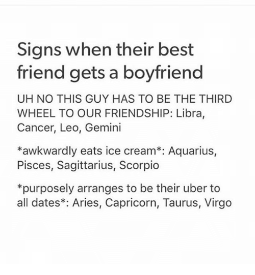 Sooo I have a guy best friend and we always talk about zodiac signs
