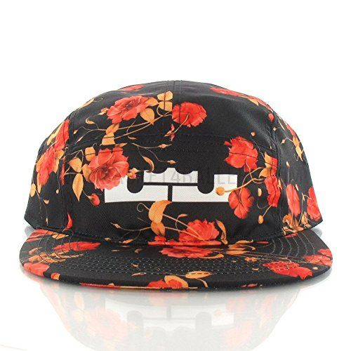 the latest 5e8af 66306 Nike AW84 Lebron Adult Mens Unisex Easter 5 Panel Strapba... https